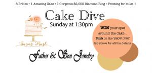 SouthernOregonWeddingShow-CakeDiveSlide